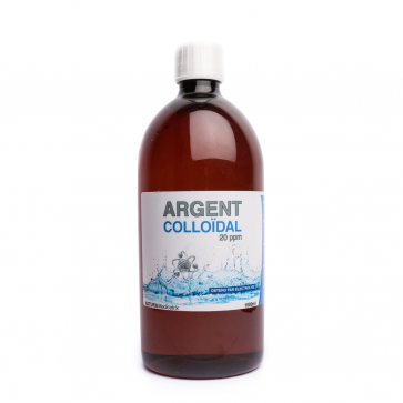 Argent Colloïdal 20ppm (1L)
