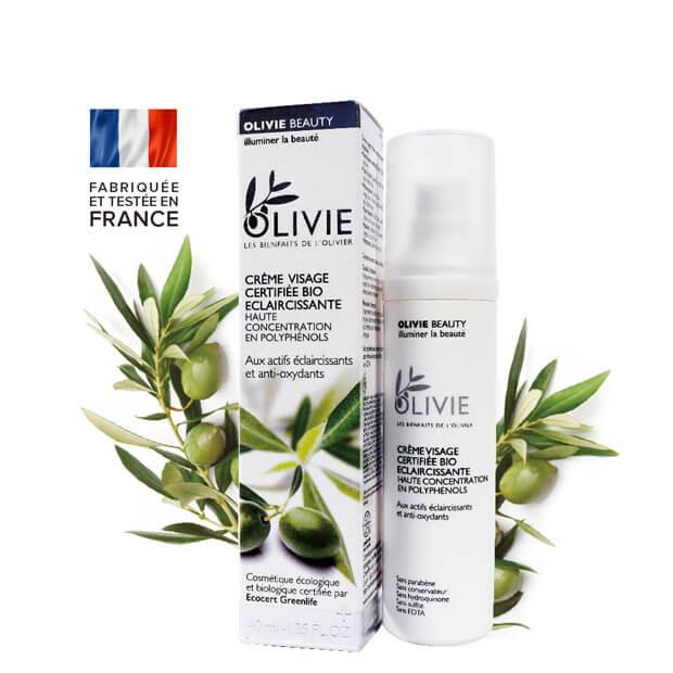 Olivie Beauty, crème de soin du visage BIO