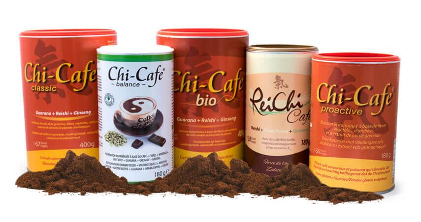 Toute la gamme Chi-Cafe de Dr. Jacob's