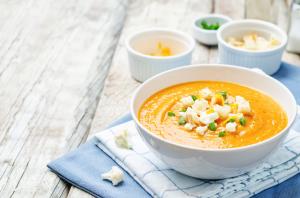 Les soupes à base d'AminoBase