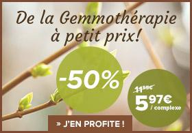 -40% sur la gamme de gemmothérapie