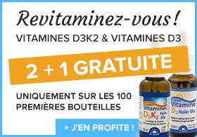 Vitamines: 2 + 1 GRATUITE